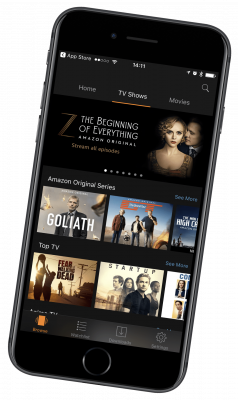 amazon prime video iphone