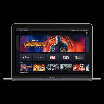 Disney+ website