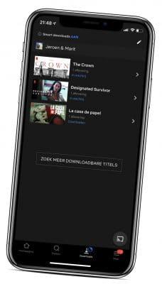 netflix download onderwerg
