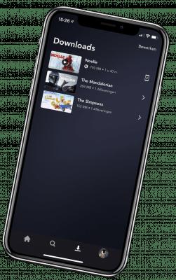 Disney+ app voor download en offline kijken